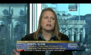 C-SPAN screenshot Olson